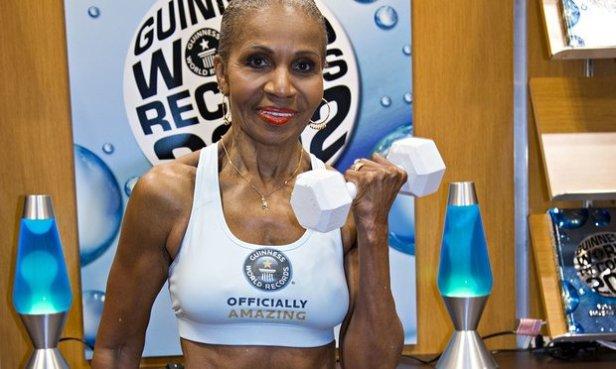 Bodybuilder Ernestine Shepard, 78